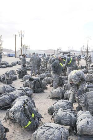 Fort Irwin training