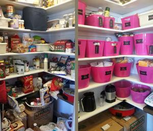 Take time and organize your pantry