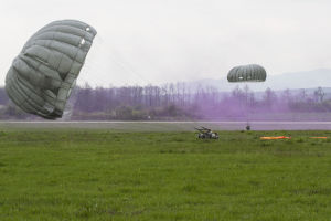 After 10 years, paratroopers soar in Kosovo