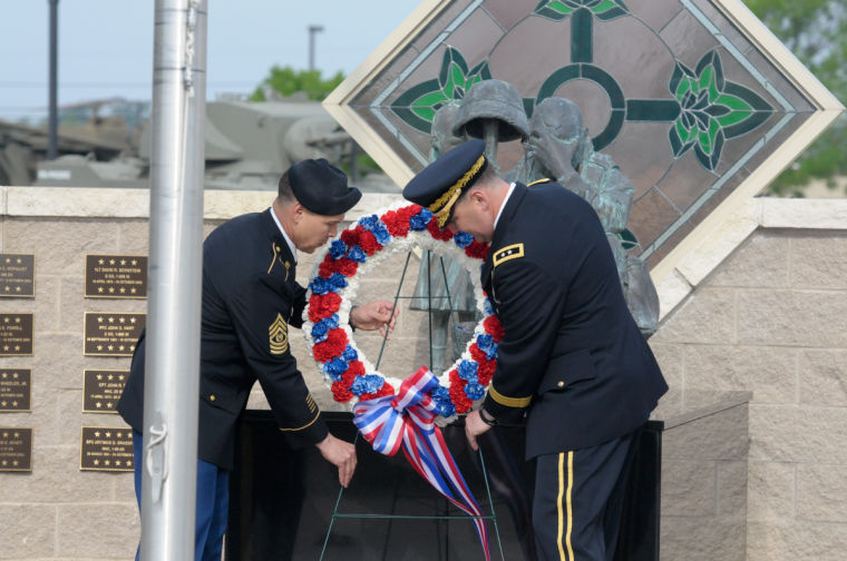 Division West pays tribute to fallen heroes