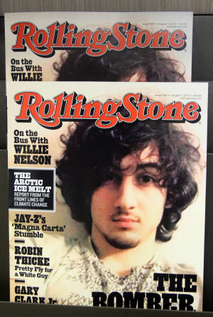 Controversial Rolling Stone at Barnes and Noble