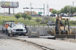U.S. Highway 190 construction