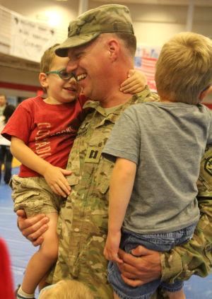 303rd Military Intelligence Battalion Welcome Home