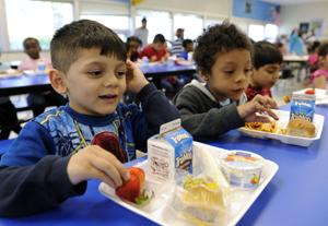 Healthier school lunches