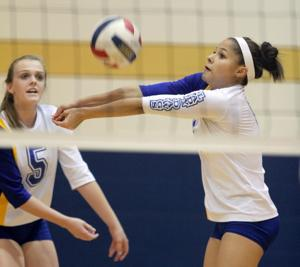 Cove vs. Belton Volleyball
