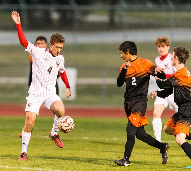 SOCCER: Eagles, Hornets boys both victorious in opening of Salado Tournament