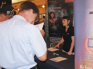 Job seekers look for new chances