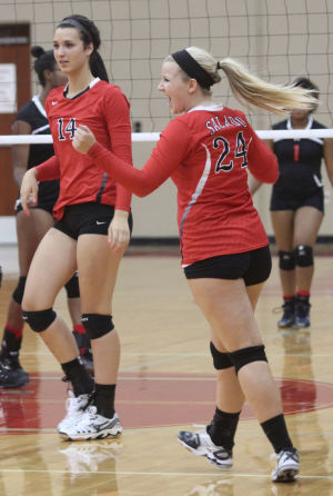 Salado vs Heights Volleyball