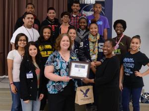 Shoemaker High School awarded gift cards