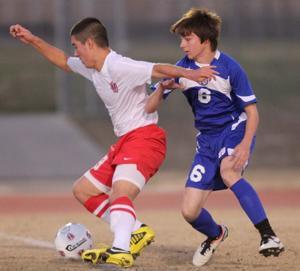 Harker Heights vs Temple Soccer