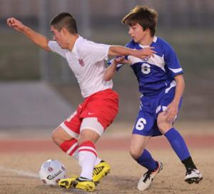 Harker Heights vs Temple Soccer