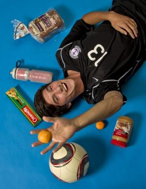 Top athletes believe diet is key to success