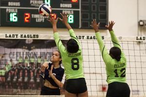 Volleyball-Shoemaker at Ellison