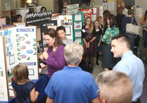 Cove holds district-wide science fair