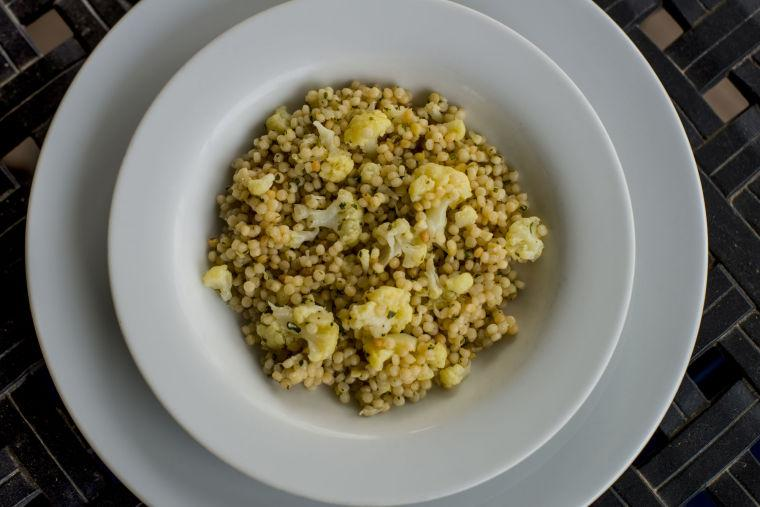 Couscous with cauliflower