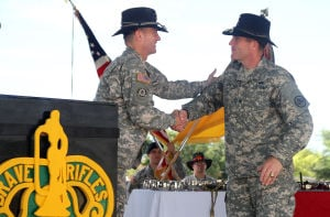 3rd Cavalry Regiment Change of Command