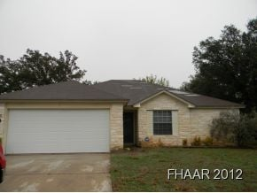 This home features 3 bed, 2 bath, 2 car garage