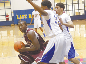 Cove tunes up for district with rare win over Runnin' Roos