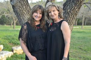 Donna Dunn and Laurie Benton