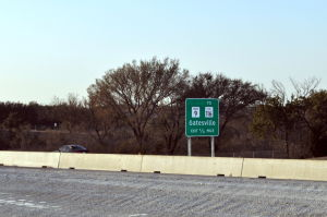 State Highway 9 exit sign unveiled