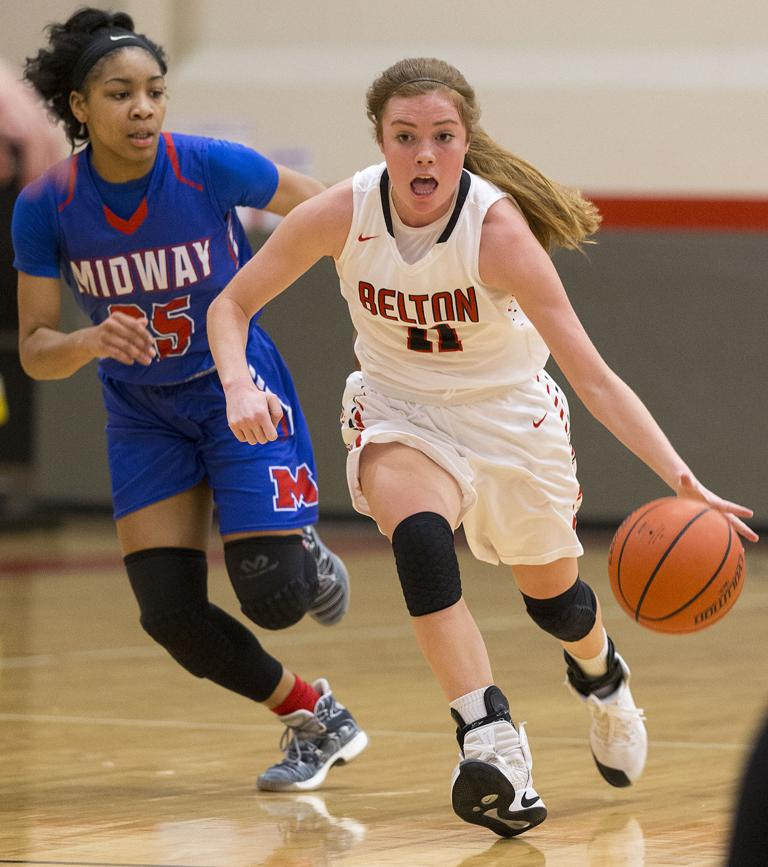 8-6A GIRLS BASKETBALL: No. 16 Waco Midway uses stout defense for 42-29 win at Belton