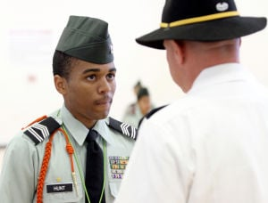 JROTC Cadet Inspection