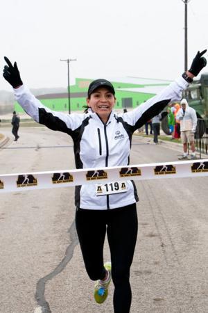 Army Marathon - Women's Winner
