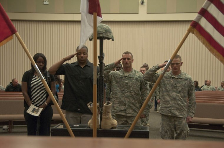 36th Engineer Brigade honors the life of a fallen Soldier
