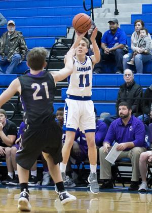 Marble Falls at Lampasas Boys Basketball