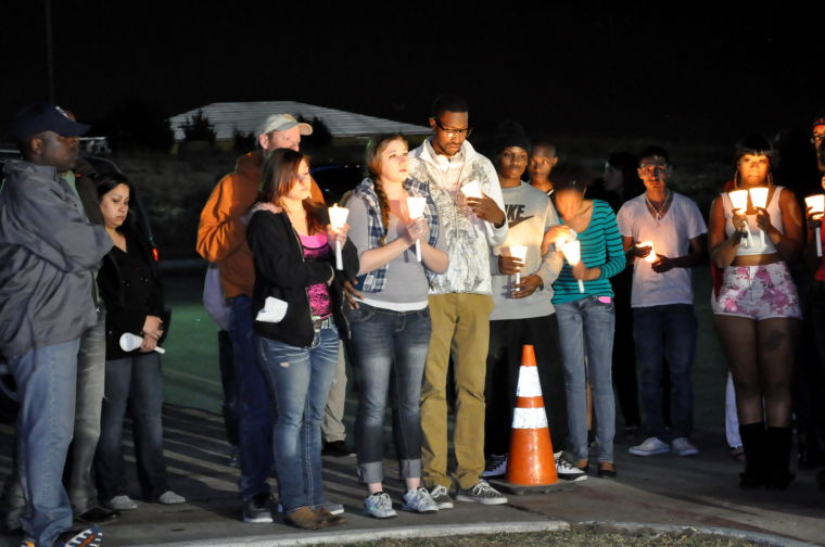 IHOP vigil