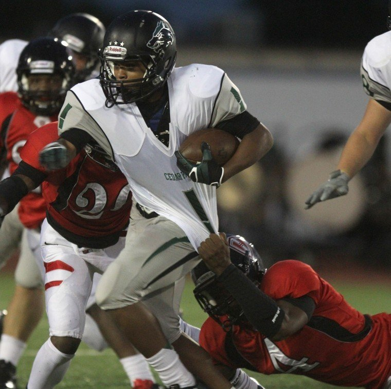 Harker Heights vs Cedar Park Football