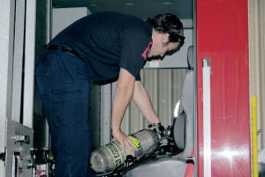 Cove firefighter recognized for service
