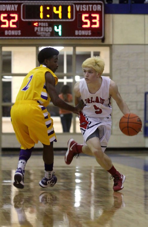 Boys Basketball Playoffs: Salado v. Marlin