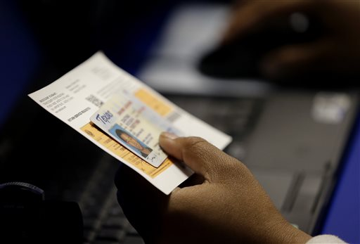 First major test of voter ID laws