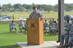 407th AFSB changes command in ceremony