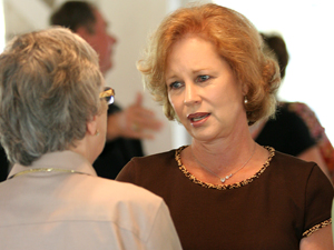 First lady stops in Lampasas