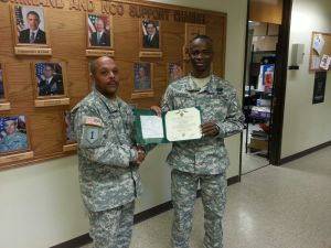 Trainer gets Army Achievement Medal
