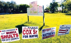 Campaign signs under scrutiny in Nolanville