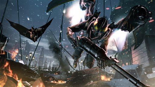 Game Review-Batman-Arkham Origins