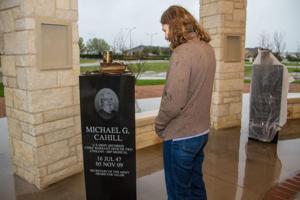 Fort Hood Memorial artist