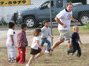 Fathers get involved at Salado elementary, intermediate schools