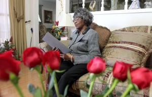 Simmonsville Missionary Baptist Church Member: Melba Olena Davis, 85, is the only surviving charter member of Simmonsville Missionary Baptist Church in Killeen. - Herald/CATRINA RAWSON