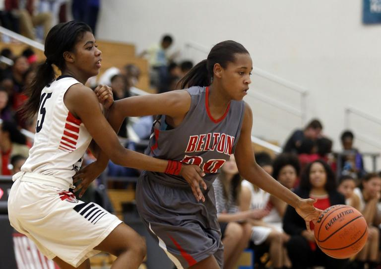 HIGH SCHOOL ROUNDUP: Belton girls hold off Harker Heights 36-32