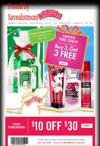 Bath & Body Works $10 off Coupon and 3 Wick Candles for $12!