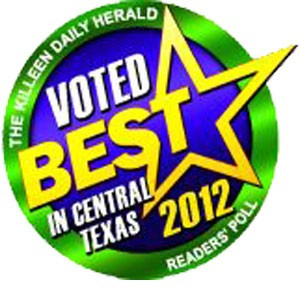 100 Best - Winner: The Killeen Daily Herald Reader's Poll Voted Best in Central Texas for 2012