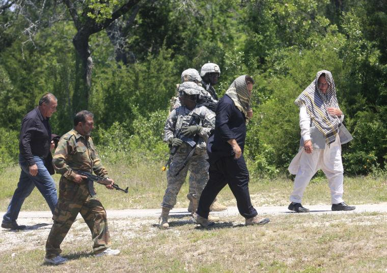 Camp Bullis Training