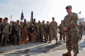 Gen. Grass visits troops in Afghanistan