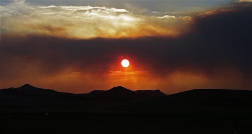 APTOPIX Colorado Wildfires