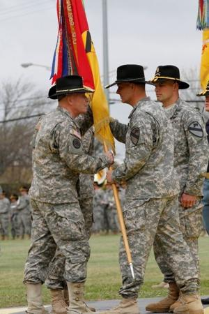 Brigade welcomes new command team