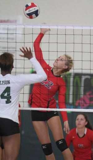 Ellison vs Salado Volleyball